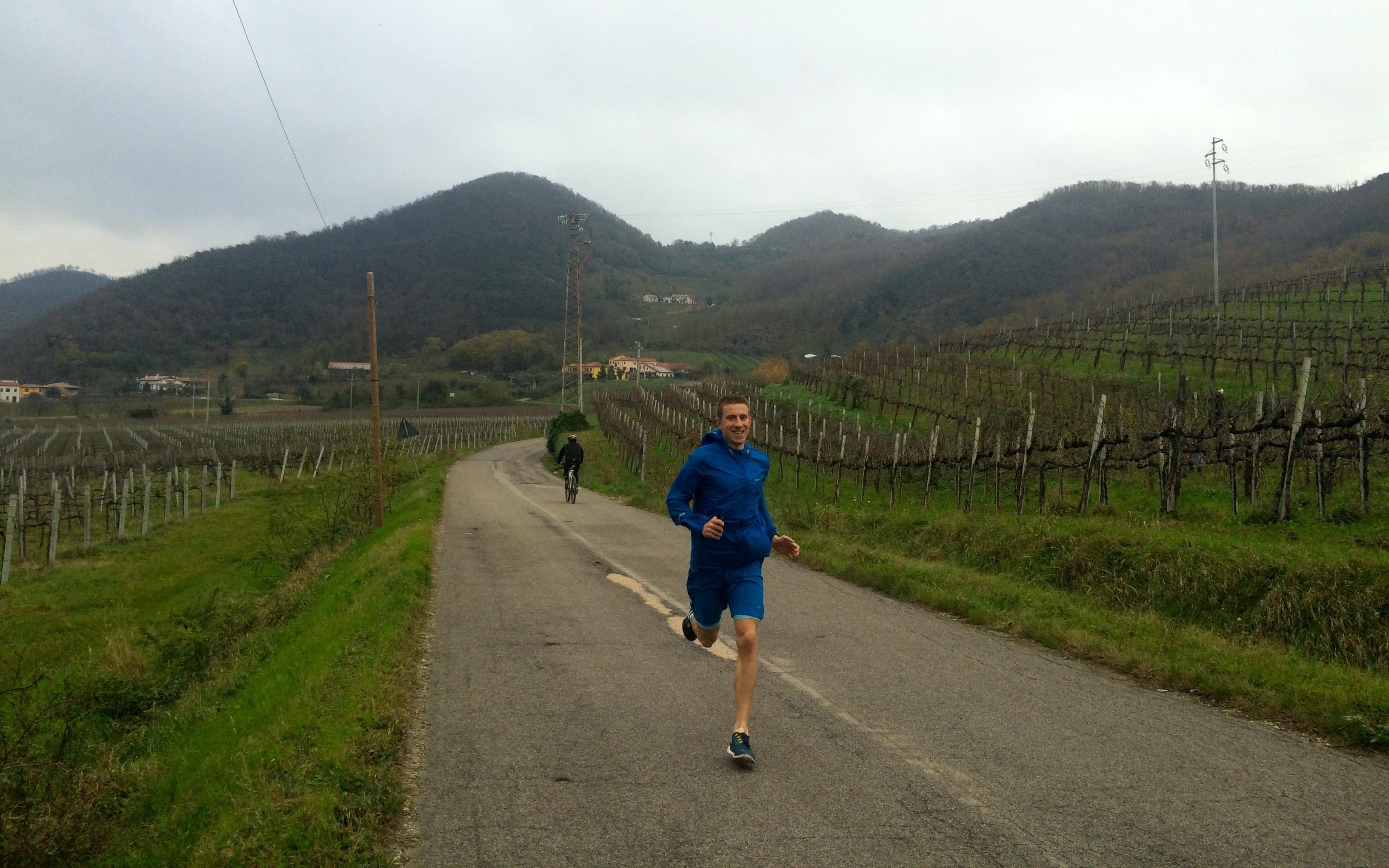 przed półmaratonem
