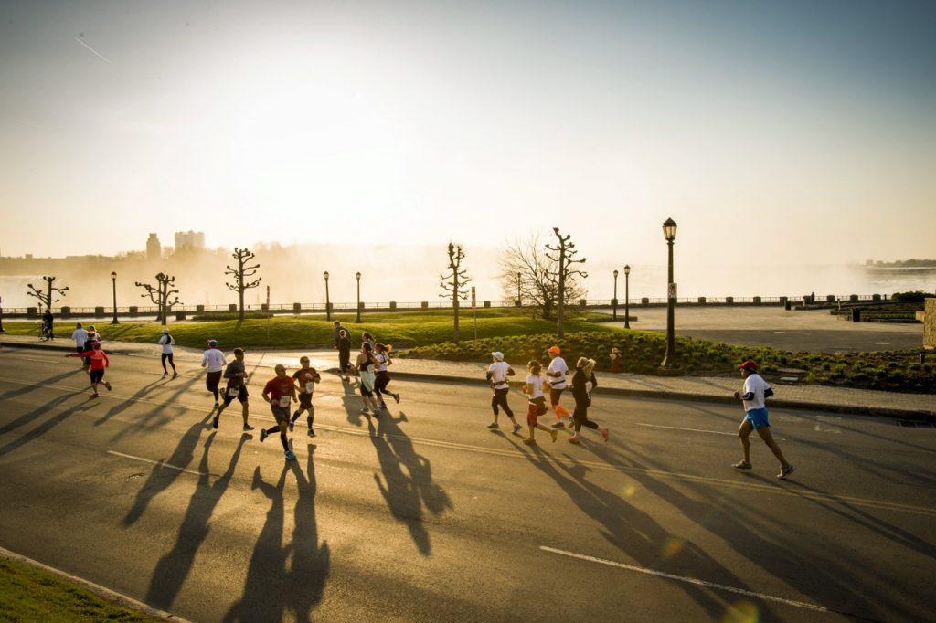 Pogoda była idealna nie tylko do biegania ale i do zdjęć :) Fot: Paul Swanson
